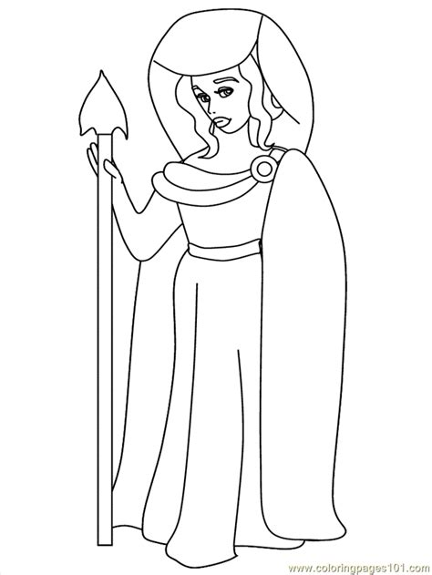 greek mythology coloring page  greek mythology