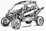 Utv Ranger Polaris Coloring Drawings Template Sketch Vectorified sketch template