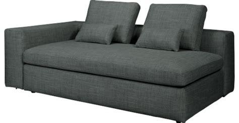 canapé lit moderne cyrus canapé lit 3 places accoudoir gauche en tissu