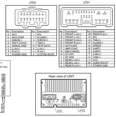 mazda 5 unit распиновка и описание pinouts ru