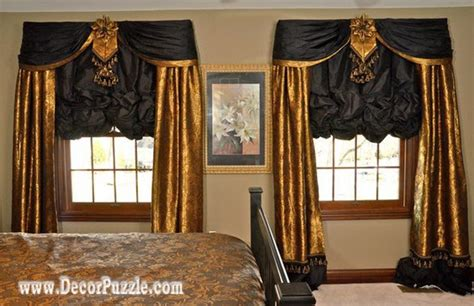 Valances For Bedroom by Top 20 Luxury Classic Curtains And Drapes Designs 2017