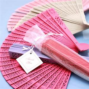 color sandalwood fan palm and bamboo hand fans wedding With fans as wedding favors