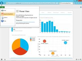 Budget In Excel Template Export Powerview Dashboards As Powerpoint To Create Dynamic And Presentations