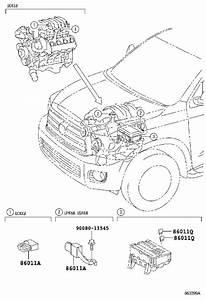 Toyota Sequoia Receiver Assembly  Radio  Panasonic  Spec