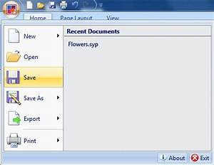 Save document or template for Documents 5 save