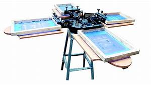 4 Colour T.shirt Screen Printing Machine in Coimbatore ...