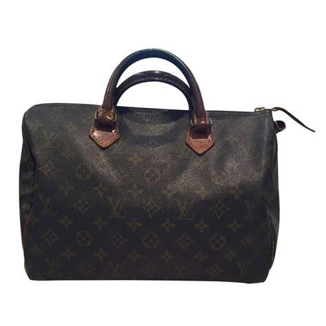 louis vuitton vintage  speedy handbag  chic selection