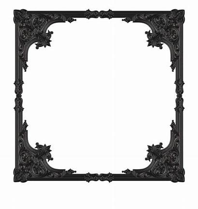 Gothic Frame Border Clip Frames Clipart Cliparts