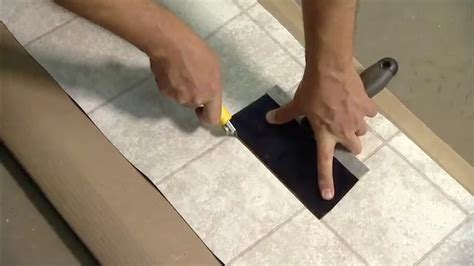 linoleum flooring repair how to repair damaged vinyl flooring today s homeowner