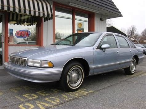 1994 Chevrolet Caprice Classic Ls Start Up, Engine, In