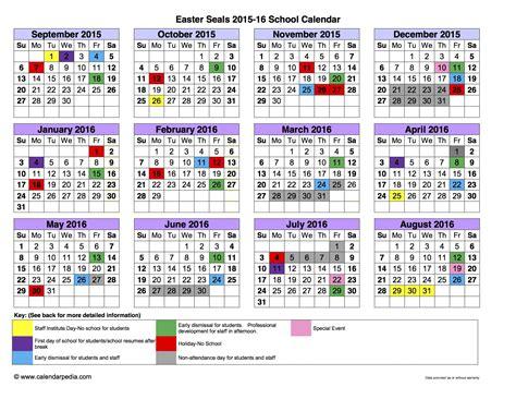 school calendar templates  printable