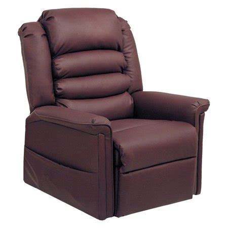 recliner chair walmart catnapper invincible faux leather power lift recliner