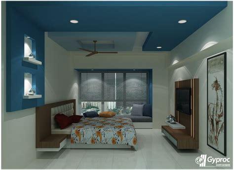 desain plafon kamar tidur modern  cantik rumah