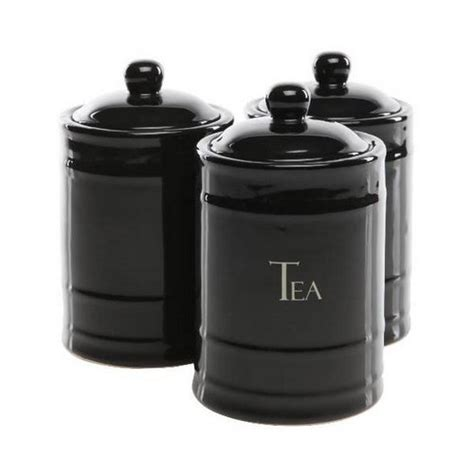 colorful kitchen canister sets black color in home decorating 5569