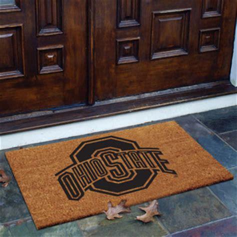 Ohio State Doormat by Ohio State Osu Buckeyes Ncaa College Rectangular Outdoor