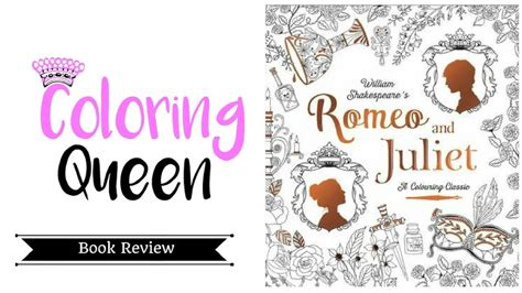 romeo juliet coloring book review youtube