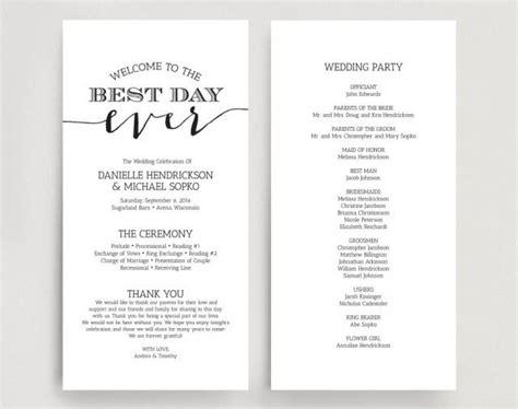 Wedding Programs, Wedding Program Instant Download, Wedding Program Printable Template Wedding Giveaways Registry Europe Las Vegas Bells For Experiences Night Tumblr Pictures Items Definition