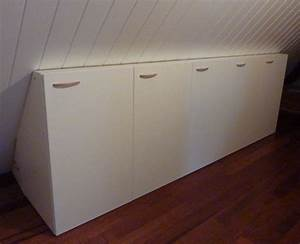 rangements sur mesure sous pente With meubles pour sous combles