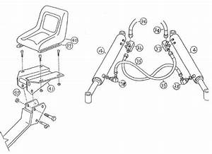 Main Frame  Stabilizer  Seat And Swing