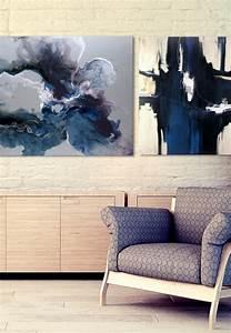Abstrakte Bilder Leinwand : die leinwandbilder als akzent im interieur ~ Sanjose-hotels-ca.com Haus und Dekorationen
