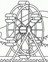 Coloring Park Pages Amusement Ferris Wheel Colouring Coaster Roller Miscellaneous Printable Sheets Disney Source Ark Template Getcolorings Noahs Popular November sketch template