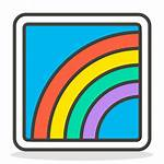 Icon Rainbow Emoji
