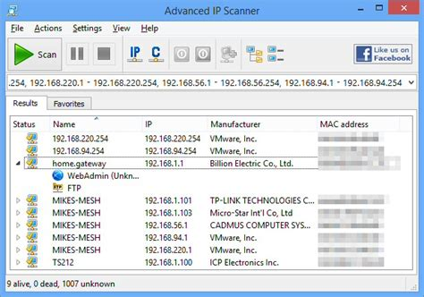 Advanced IP Scanner 2.4.2601 free download - Software