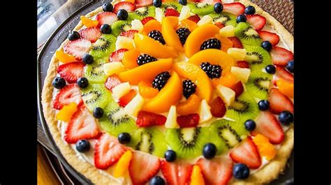 holiday fruit pizza how to make a fruit pizza dessert ideas