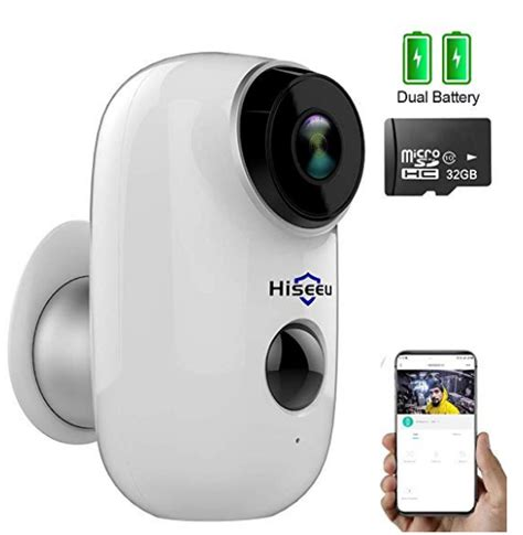 camera battery security wireless outdoor powered