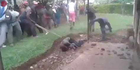 alleged thief brutally beat stoned  death livegorecom