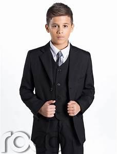 Boys Black Suit Page Boy Suits Prom Suit Boys Wedding Suit Boys Funeral Suit   eBay