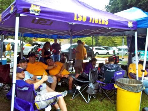 LSU Tailgate | College football tailgate, Lsu, Football ...