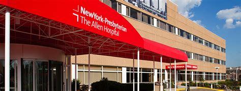 services  newyork presbyterian allen hospital