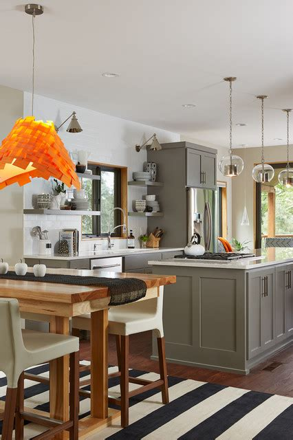 beautiful gray kitchen cabinets interiors  color