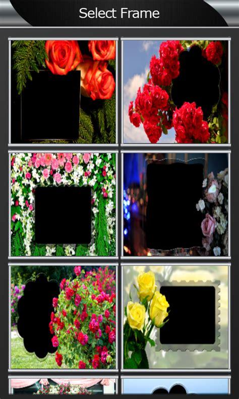 rose flower photo frames apk   android