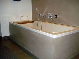 Badezimmergestaltung Ohne Fliesen : wandgestaltung bad ~ Markanthonyermac.com Haus und Dekorationen