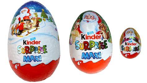kinder maxi surprise eggs christmas  edition kinder