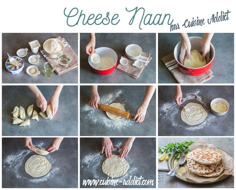cuisine indienne naan cheese naan pains au fromage indiens cuisine addict cuisine addict de cuisine