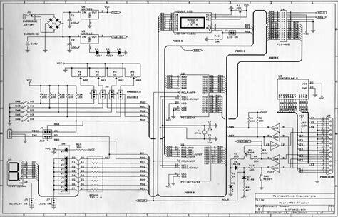 scheda di programmazione upic trainer schema elettrico