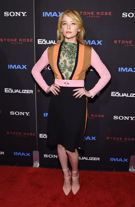 Haley Bennett wears Louis Vuitton at 'The Equalizer' New ...