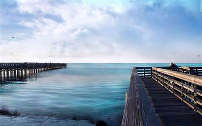 Dock Ocean Wallpapers Desktop Backgrounds 8k Resolution