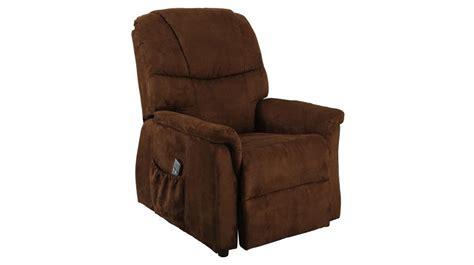 fauteuil releveur 233 lectrique microfibre chocolat fauteuil releveur pas cher