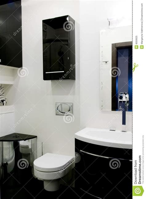 toilette moderne photo libre de droits image 8050625