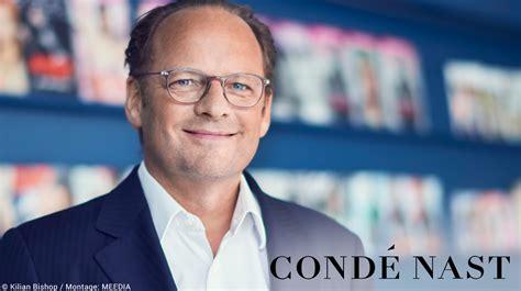 Condé Nast-chef Moritz Von Laffert