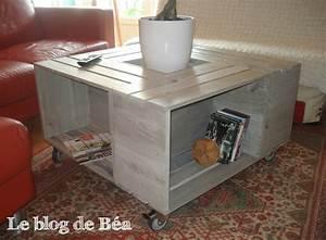 Table Basse Caisse Bois : pas pas table basse bar le blog de b a ~ Nature-et-papiers.com Idées de Décoration