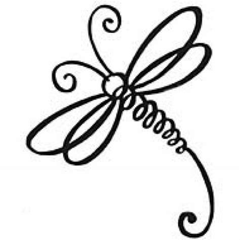 simple dragonfly clipart   cliparts