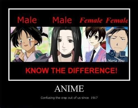 Funny Character Memes - post an androgynous anime character anime answers fanpop