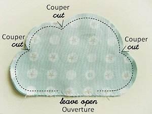 Coussin Nuage Ikea : quelle couleur pour une chambre 15 tuto coussin nuage couture ~ Preciouscoupons.com Idées de Décoration