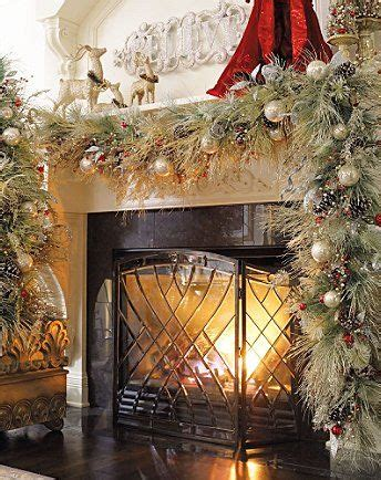 fireplace garlands 1000 ideas about fireplace on