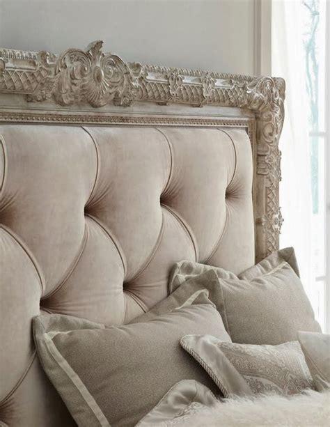 Velvet Upholstered King Headboard by Picture Of French Styled Framed Tufted Headboard